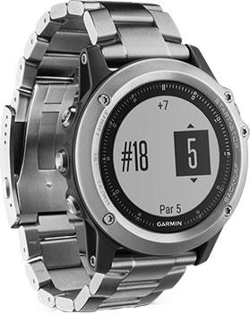 Garmin Умные часы Garmin 010-01338-79. Коллекция Fenix 3 навигатор часы garmin fenix 3 sapphire 010 01338 21