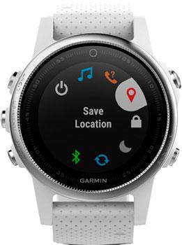 Garmin Умные часы Garmin 010-01685-00. Коллекция Fenix 5S комплект умных фонарей garmin varia hl 500 tl 300 010 01419 00