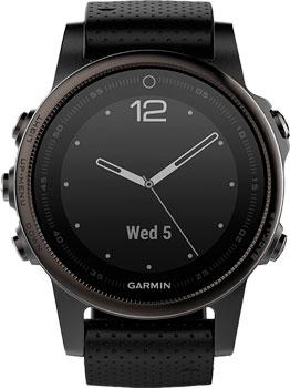 Garmin Умные часы Garmin 010-01685-11. Коллекция Fenix 5S garmin умные часы garmin fenix chronos titanium титановый
