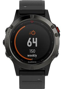Garmin Умные часы Garmin 010-01688-00. Коллекция Fenix 5 garmin умные часы garmin fenix chronos titanium титановый