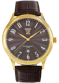 Gryon Часы Gryon G081.22.22. Коллекция Classic everswiss часы everswiss 2787 lbkbk коллекция classic