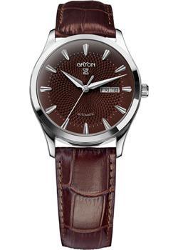 Gryon Часы Gryon G133.12.35. Коллекция Classic gryon мужские швейцарские наручные часы gryon g 521 41 31