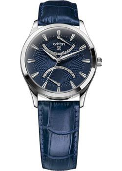 Gryon Часы Gryon G137.16.36. Коллекция Classic балаклава bergans bergans fjellrapp детская голубой 54