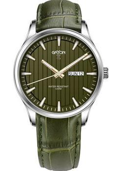 цена Gryon Часы Gryon G231.18.38. Коллекция Classic онлайн в 2017 году
