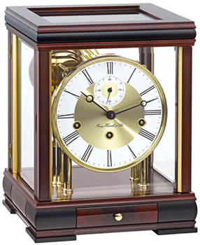 Hermle Настольные часы  Hermle 22998-070352. Коллекция hermle настольные часы hermle 23011 740791 коллекция настольные часы