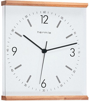 Hermle Настенные часы Hermle 30704-382100. Коллекция hermle® iron skeleton wall clock