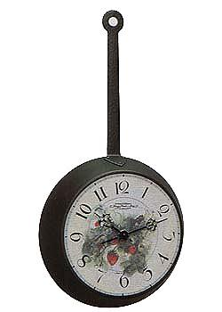 Hermle Настенные часы Hermle 30768-002100. Коллекция hermle® iron skeleton wall clock