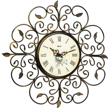 Hermle Настенные часы Hermle 30897-002100. Коллекция hermle® iron skeleton wall clock