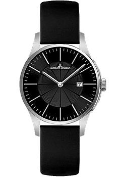 Jacques Lemans Часы Jacques Lemans 1-1461A. Коллекция Classic jacques lemans lugano 1 1645l