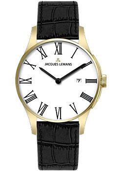 Jacques Lemans Часы Jacques Lemans 1-1461R. Коллекция Classic jacques lemans 1 1759a jacques lemans