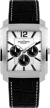 Jacques Lemans Часы Jacques Lemans 1-1463T. Коллекция Madrid madrid 1 10 000