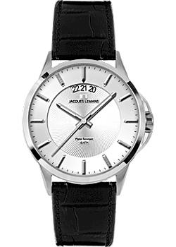 Jacques Lemans Часы Jacques Lemans 1-1540B. Коллекция Sydney jacques lemans 1 1759a jacques lemans