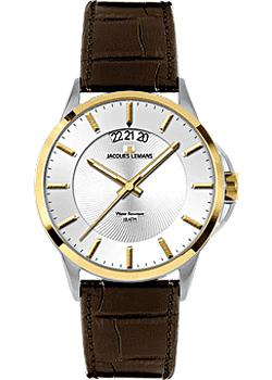 Jacques Lemans Часы Jacques Lemans 1-1540H. Коллекция Sydney jacques lemans 1 1752b