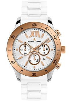 Jacques Lemans Часы Jacques Lemans 1-1586R. Коллекция Rome Sports jacques lemans rome 1 1797l