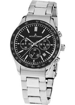 цена Jacques Lemans Часы Jacques Lemans 1-1586ZG. Коллекция Rome Sports онлайн в 2017 году