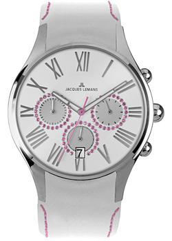 Jacques Lemans Часы Jacques Lemans 1-1606O. Коллекция Capri jacques lemans jl 1 1633f