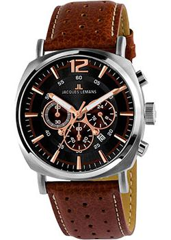 Jacques Lemans Часы Jacques Lemans 1-1645K. Коллекция Lugano все цены