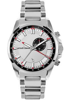 Jacques Lemans Часы Jacques Lemans 1-1653E. Коллекция Liverpool jacques lemans часы jacques lemans 1 1847g коллекция liverpool