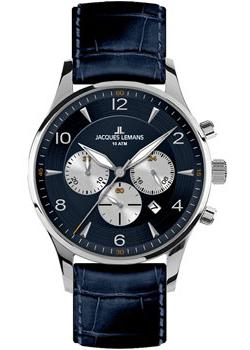 Jacques Lemans Часы Jacques Lemans 1-1654C. Коллекция London jacques lemans london 1 1654b