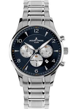 Jacques Lemans Часы Jacques Lemans 1-1654K. Коллекция London цена