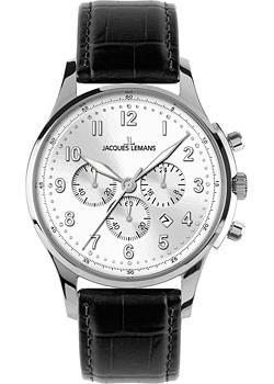 Jacques Lemans Часы Jacques Lemans 1-1656B. Коллекция Liverpool jacques lemans liverpool 1 1769c