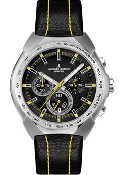 цена Jacques Lemans Часы Jacques Lemans 1-1675E. Коллекция Sport онлайн в 2017 году
