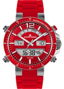 Jacques Lemans Часы Jacques Lemans 1-1712D. Коллекция Sport jacques lemans часы jacques lemans 1 1673f коллекция sport