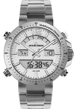 Jacques Lemans Часы Jacques Lemans 1-1713D. Коллекция Sport jacques lemans jl 1 1647b