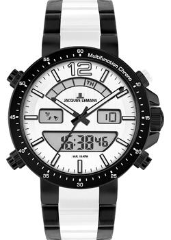 Jacques Lemans Часы Jacques Lemans 1-1714F. Коллекция Sport jacques lemans jl 1 1714f