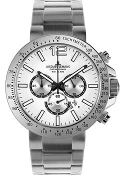 Jacques Lemans Часы Jacques Lemans 1-1717D. Коллекция Sport jacques lemans jl 1 1633f