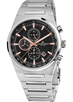 Jacques Lemans Часы Jacques Lemans 1-1734A. Коллекция Sport jacques lemans часы jacques lemans 1 1712k коллекция sport