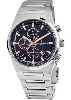 Jacques Lemans Часы Jacques Lemans 1-1734B. Коллекция Sport jacques lemans часы jacques lemans 1 1712k коллекция sport