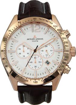 Jacques Lemans Часы Jacques Lemans 1-1751D. Коллекция Power chrono jacques lemans jl 1 1647b