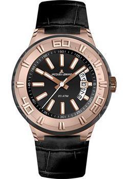 Jacques Lemans Часы Jacques Lemans 1-1771G. Коллекция Miami jacques lemans часы jacques lemans 1 1786b коллекция miami