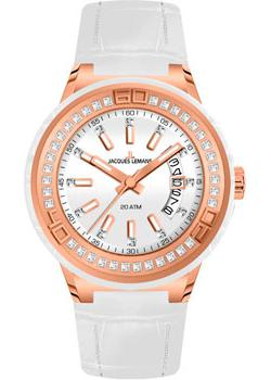 Jacques Lemans Часы Jacques Lemans 1-1776F. Коллекция Miami jacques lemans часы jacques lemans 1 1786b коллекция miami