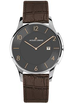 Jacques Lemans Часы Jacques Lemans 1-1777K. Коллекция Classic jacques lemans часы jacques lemans 1 1727d коллекция classic