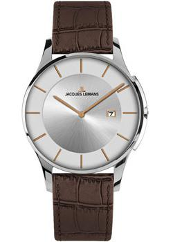 Jacques Lemans Часы Jacques Lemans 1-1777M. Коллекция London jacques lemans london 1 1654b