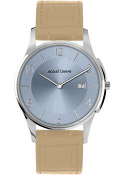 Jacques Lemans Часы Jacques Lemans 1-1777R. Коллекция London jacques lemans london 1 1654f