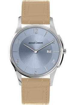 Jacques Lemans Часы Jacques Lemans 1-1777R. Коллекция London jacques lemans jl 1 1649e