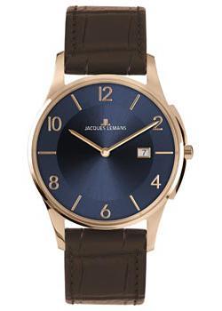 Jacques Lemans Часы Jacques Lemans 1-1777U. Коллекция London jacques lemans london 1 1844h