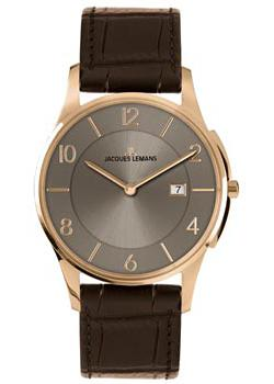 Jacques Lemans Часы Jacques Lemans 1-1777Y. Коллекция London jacques lemans london 1 1813i
