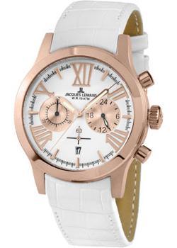Jacques Lemans Часы Jacques Lemans 1-1809D. Коллекция Porto jacques lemans часы jacques lemans 1 1798b коллекция porto