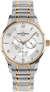 Jacques Lemans Часы Jacques Lemans 1-1827L. Коллекция Classic jacques lemans часы jacques lemans 1 1461m коллекция classic