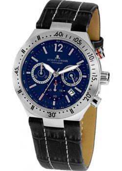 цена Jacques Lemans Часы Jacques Lemans 1-1837C. Коллекция Rome Sports онлайн в 2017 году