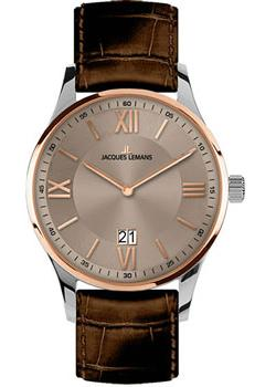 Jacques Lemans Часы Jacques Lemans 1-1845E. Коллекция London jacques lemans london 1 1813i