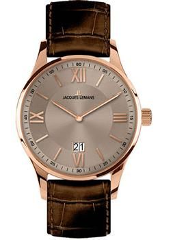 Jacques Lemans Часы Jacques Lemans 1-1845F. Коллекция London jacques lemans london 1 1844h