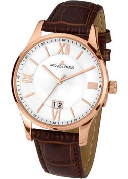 Jacques Lemans Часы Jacques Lemans 1-1845Q. Коллекция Classic jacques lemans jl 1 1647b