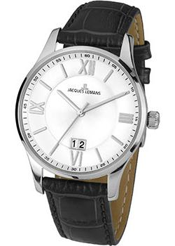 Jacques Lemans Часы Jacques Lemans 1-1845S. Коллекция London jacques lemans london 1 1654f