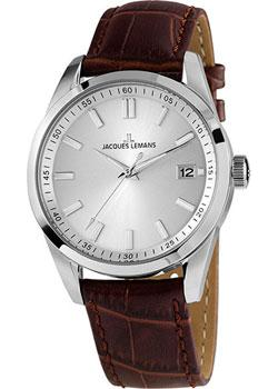 Jacques Lemans Часы Jacques Lemans 1-1868F. Коллекция Liverpool jacques lemans liverpool moonphase 1 1901a