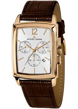 Jacques Lemans Часы Jacques Lemans 1-1906D. Коллекция Bienne jacques lemans bienne 1 1906d